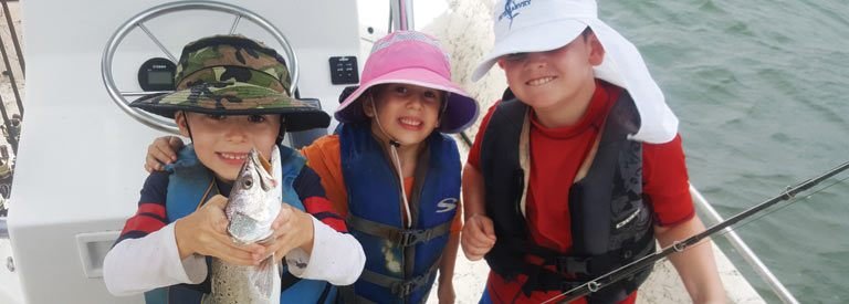 Kids are more than welcome to come fish with Avid Angling